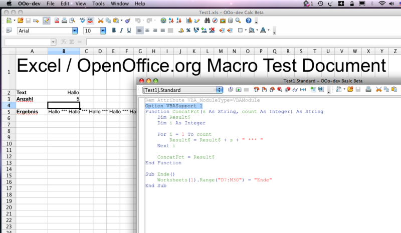 Writing a Macro in LibreOffice Calc – Getting Started
